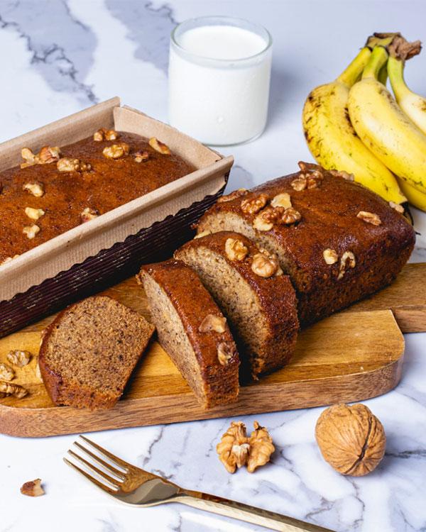 Walnut Banana Cake 350g
