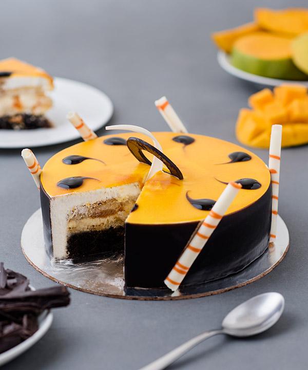 Mango Choco Cream Cake