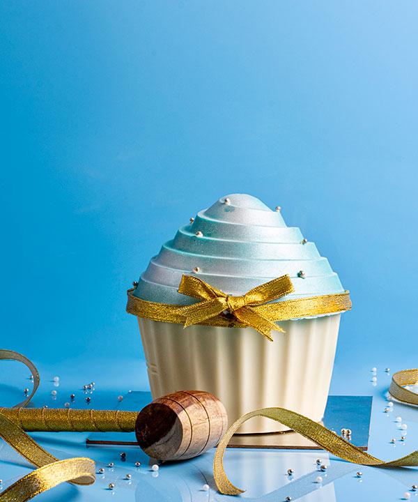 OCEAN PEARL HAMMER CUP CAKE