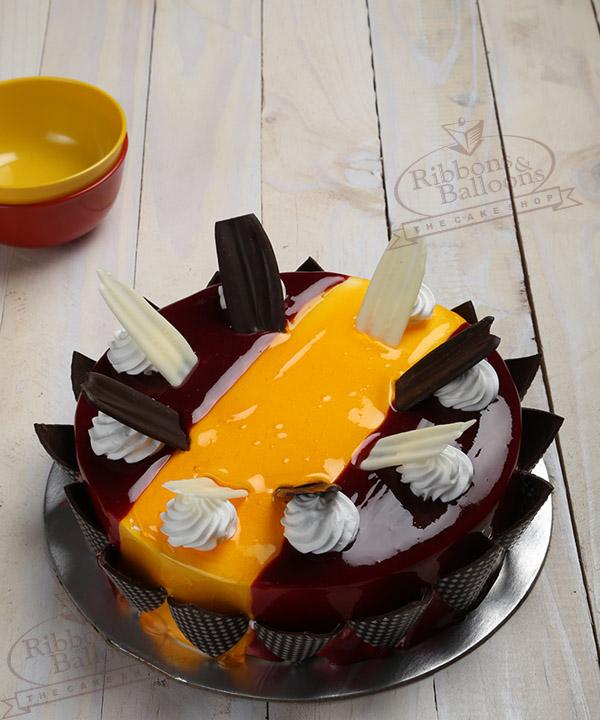 Order Raspberry Mango Cake Online Delivery In Mumbai
