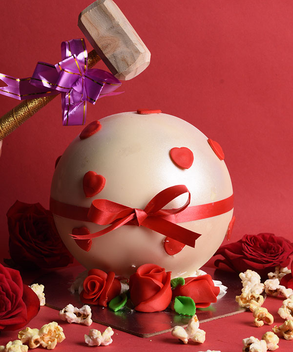 SWEETHEART GLOBE - HAMMER CAKE