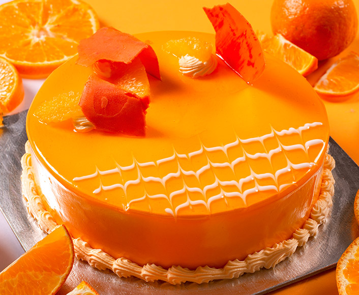SunKissed Orange Cake