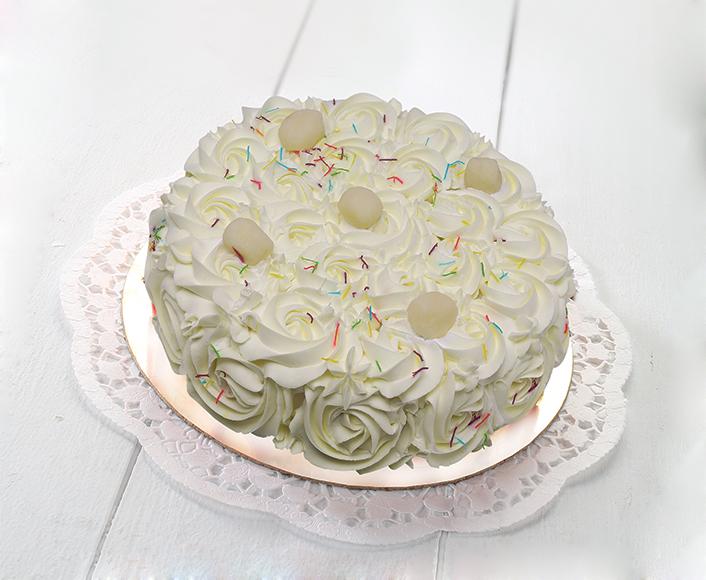 Rasgulla Magic Cake