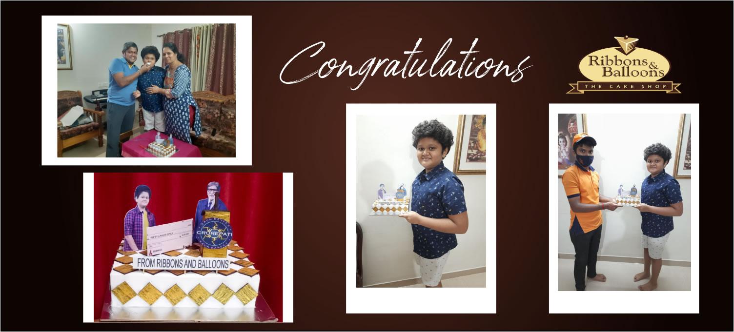 Congratulations to Anamaya Yogesh Diwakar KBC